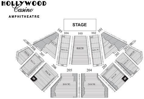 tinley park concert seating chart casino hitheatre seating chart tinley park