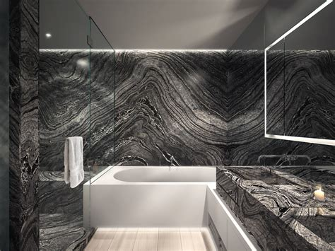 honed marble bathroom how to glamorize your bathroom with this material