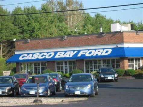 Casco Bay Ford by Casco Bay Ford Yarmouth Me 04096 6963 Car Dealership