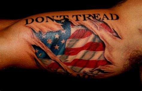 dont tread on me by jeff norton tattoos
