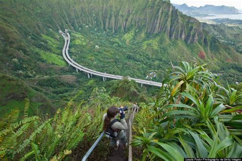 Stairs Hawaii by The 21 Most Magical Spots In Hawaii Huffpost