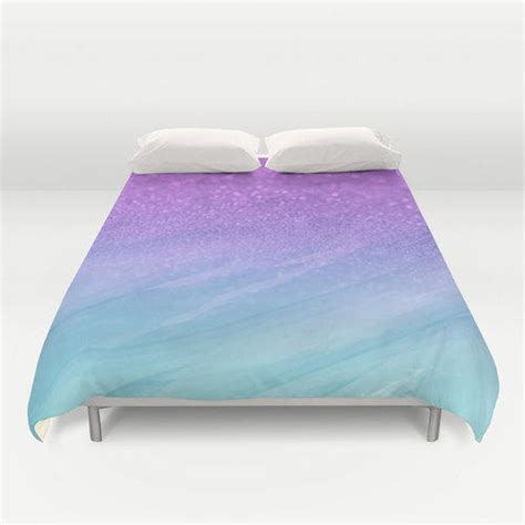 pink ombre comforter duvet cover made to order glitter from pink fox designs
