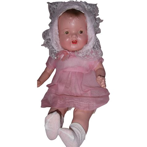 composition baby doll really composition baby doll from mydollymarket2 on