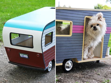 dog decorations for home cool dog house upgrade instantly endearing pet trailer