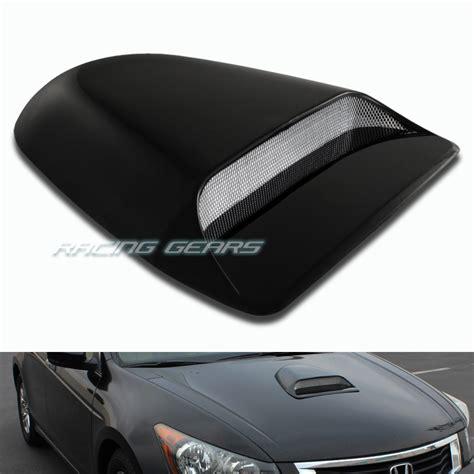 Air Scoop Air Flow Universal black abs plastic racing air flow intake bonnet vent turbo