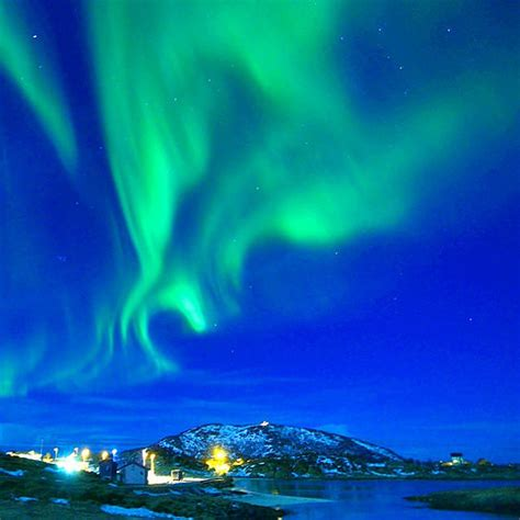 where are the northern lights located northern lights aurora borealis location sommar 248 y trom