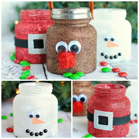 crafts with baby food jars for christmas baby food jar decor or ornaments winter jars decor food jar and jar