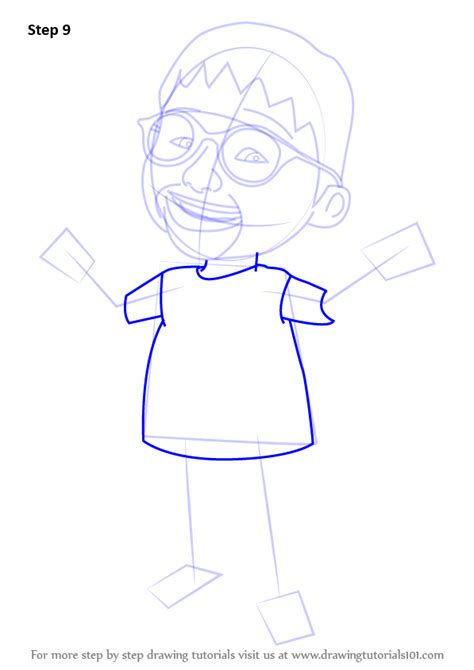 tutorial upin ipin flanel learn how to draw ehsan from upin ipin upin ipin