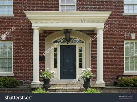 Portico Designs For Front Door Modern House With Portico Modern House