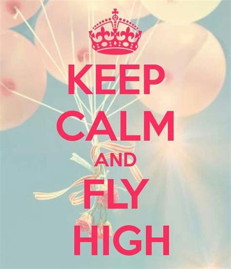 fly high fly high quotes