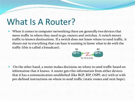 what is a what is a router