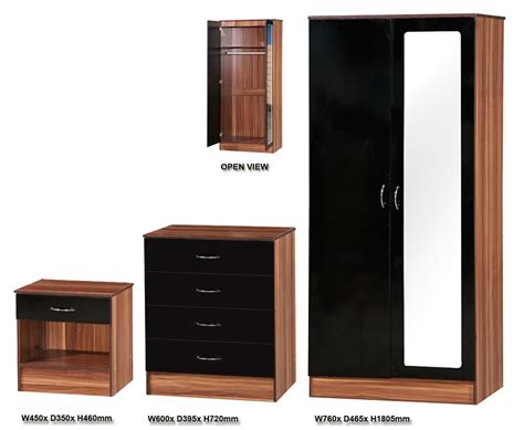 Gloss Black Bedroom Furniture Bedroom Furniture Black Gloss And Photos Madlonsbigbear