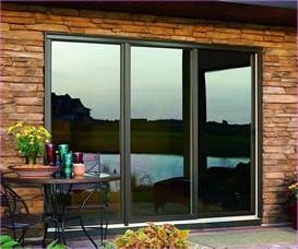 3 panel sliding patio door barn and patio doors