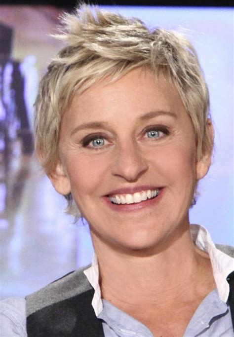 ellen degeneres 2014 haircut ellen degeneres pictures new pixie haircut