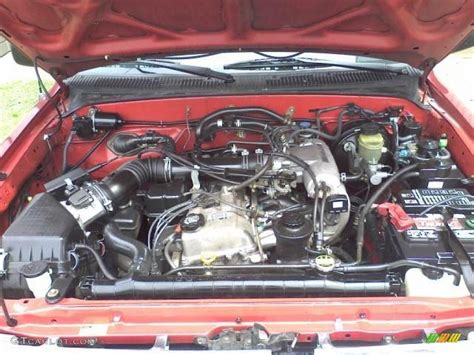 1999 Toyota Engine by 1999 Toyota Tacoma Extended Cab 2 7 Liter Dohc 16 Valve 4