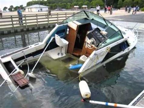 boat crash you tube most awesome boat crashes collisions accidents