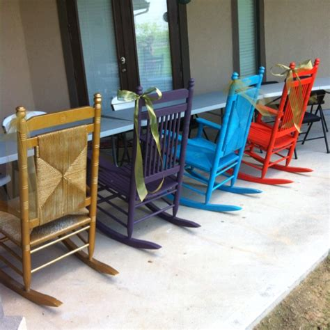Rocking Chairs Cracker Barrel by Cracker Barrel Rocking Chairs I Sanded And Painted
