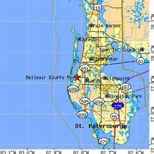 belleair bluffs florida map belleair bluffs florida fl population data races