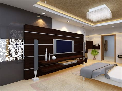 bedroom design with lcd tv modern bedroom