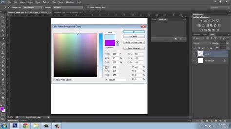 photoshop replace color adobe photoshop cs6 basics part 5 color picker