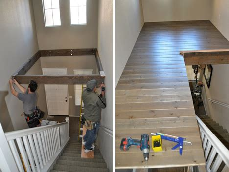 How To Make Small Bedrooms Look Bigger abracadabra double height foyer becomes diy loft area