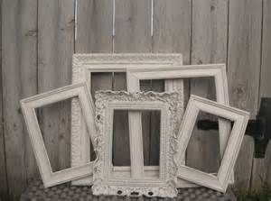 vintage shabby chic picture frames vintage style picture frames shabby chic wedding by