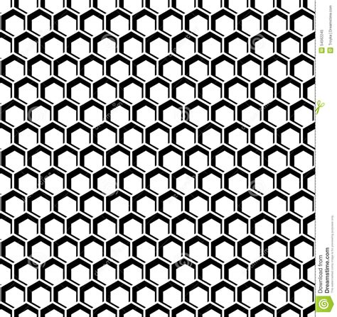 honeycomb pattern art seamless hexagons texture honeycomb pattern stock vector