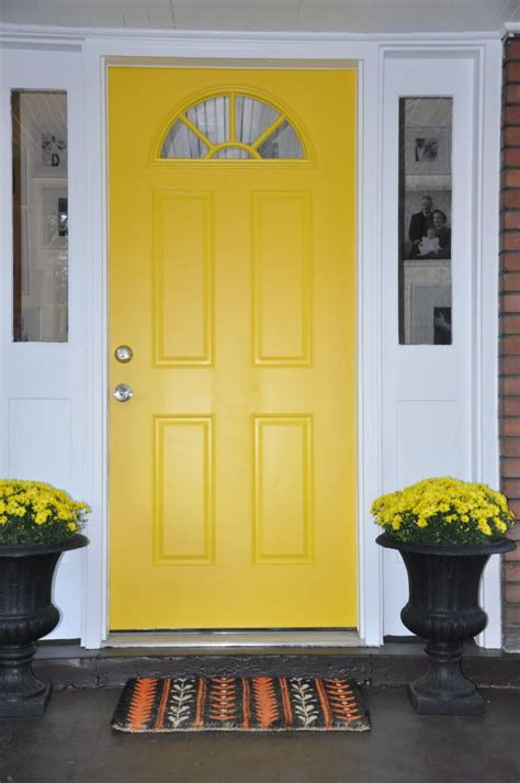 Yellow Front Door 100 Ideas To Try About Front Door And Shutter Color Ideas Yellow Front Doors Front Doors