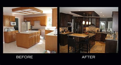 Remodel Kitchen Cabinets by Sumac Kitchen Before After Alana S Touch Innovative