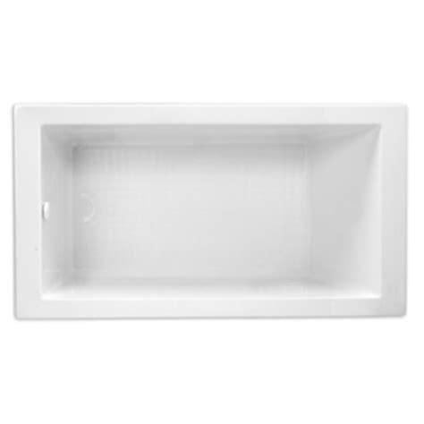 mireds6636wh edenton 66 quot soaking tub white at shop