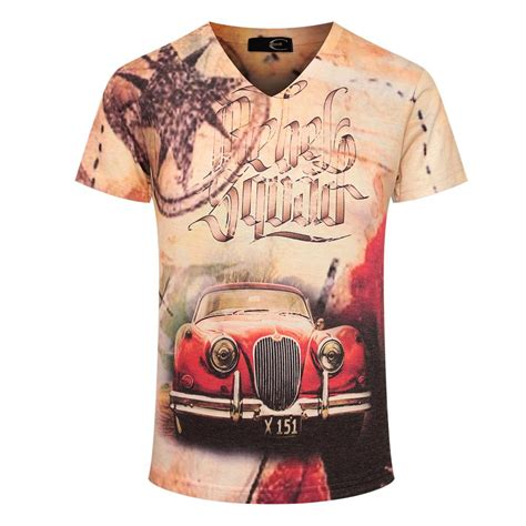Vintage Printed T Shirts Mens by Retro Car Printed T Shirt 2017 S Shirt Sleeve Pullovers Designed M 3xl
