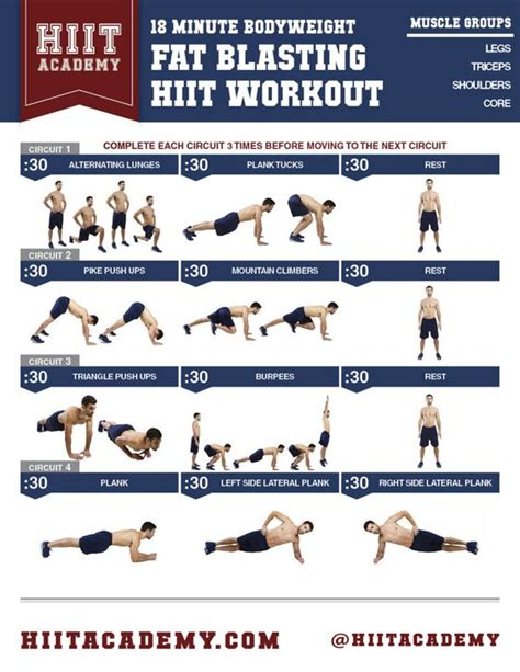 workouts for hiit and and on