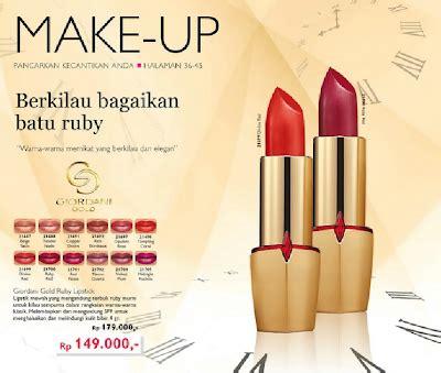 Lipstik Oriflame Giordani Gold my makeup diarires diskon spesial lipstik lip gloss