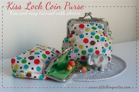 kiss forever tutorial stitching notes tutorial kiss lock coin purse