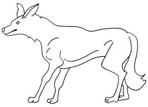 coyote color coyotes coloring page coloring pages