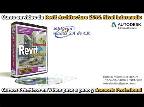 revit tutorial espanol revit 2015 tutorial en espa 241 ol curso intermedio