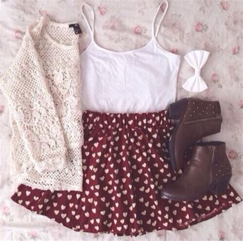Lnice Flower Top Skirt shirt sweater skirt skirt floral skater skirt