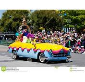 Disney Stars N Cars Parade Editorial Photo  Image 21017426