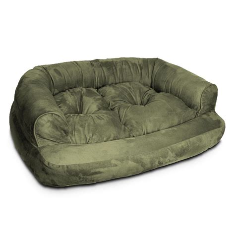 snoozer overstuffed sofa pet bed snoozer overstuffed sofa pet bed size 54 quot l x 36 quot w x 13 quot h