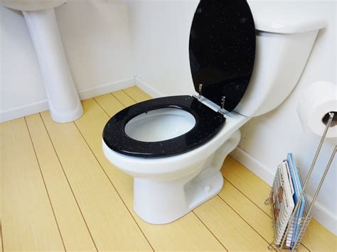 Decorative Toilet Paper Holder by Black Glitter Toilet Seat Std Round Baby N Toddler