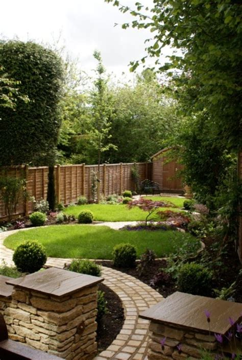 circle garden rustic landscape hertfordshire by green tree garden design ltd
