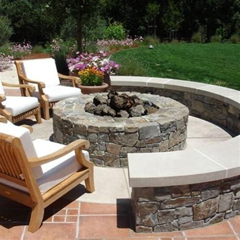 cheap pit seating ideas 1000 ideas about circular patio on brick