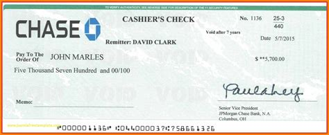 18 Fake Cashiers Check Template Vereador Jamerson Cashiers Check Template