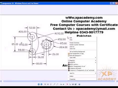 autocad 2007 tutorial in urdu assignments 10 in autocad urdu tutorials www xpacademy com