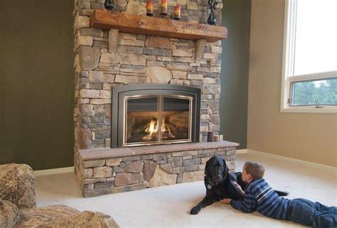 New York Fireplace by Enviro Series 40 X 28 Gas Insert Fireplace Eg41