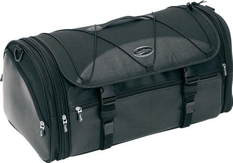 Black Roll Bag saddlemen black rear textile deluxe tour pak roll bag harley davidson touring jt s cycles
