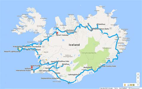 printable road map iceland iceland road map www pixshark com images galleries