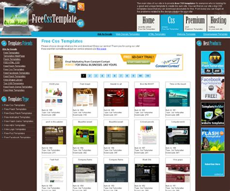 free flash templates for website to download free web templates