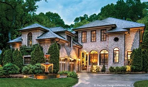 Dan Sater Luxury Homes The Arch Of An Idea 4 Memorable Entrances From Dan Sater Builder Magazine Design Plans