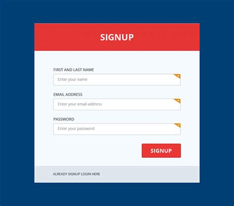 subscribe page design metro ui sign up page design psd on behance